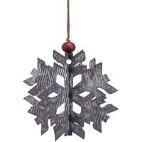 3D Galvanized Snowflake (2 Sizes)