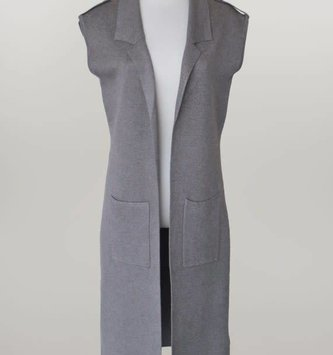 Sweater Duster w/ Belt (2 Colors)