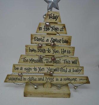 Christmas Story Tree w/ Bells