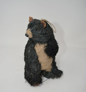 Standing Black Bear Ornament