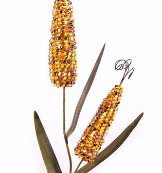 Double Indian Corn Stake
