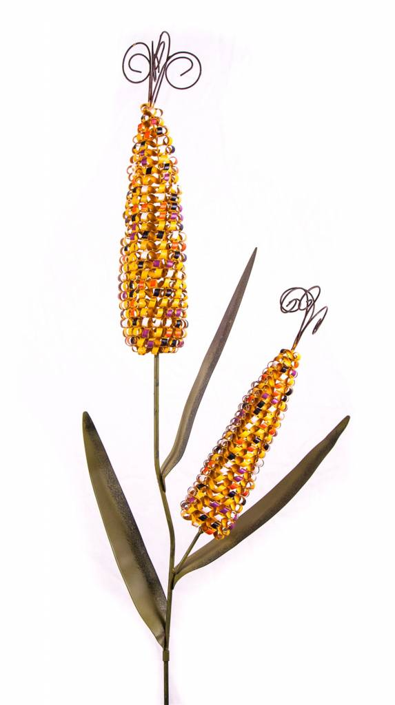 Double Indian Corn Stake