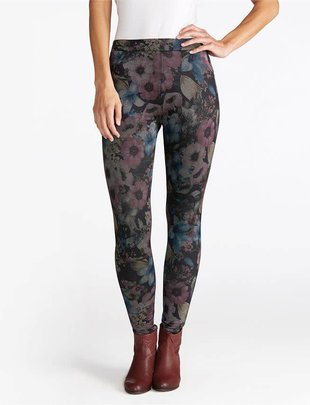 Maisey Floral Pocket Jeggings (2 Colors)