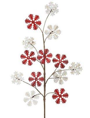 Wooden Snowflake Spray