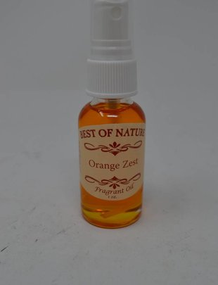 Orange Zest Oil Spray
