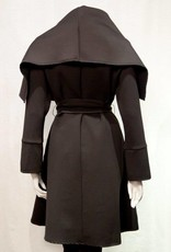 Samuel Dong Black coat  F18038