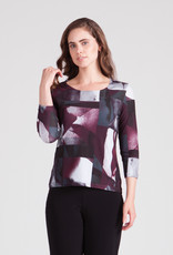 Sympli Go To Classic T Fitted 3/4 Sleeve 22173-2