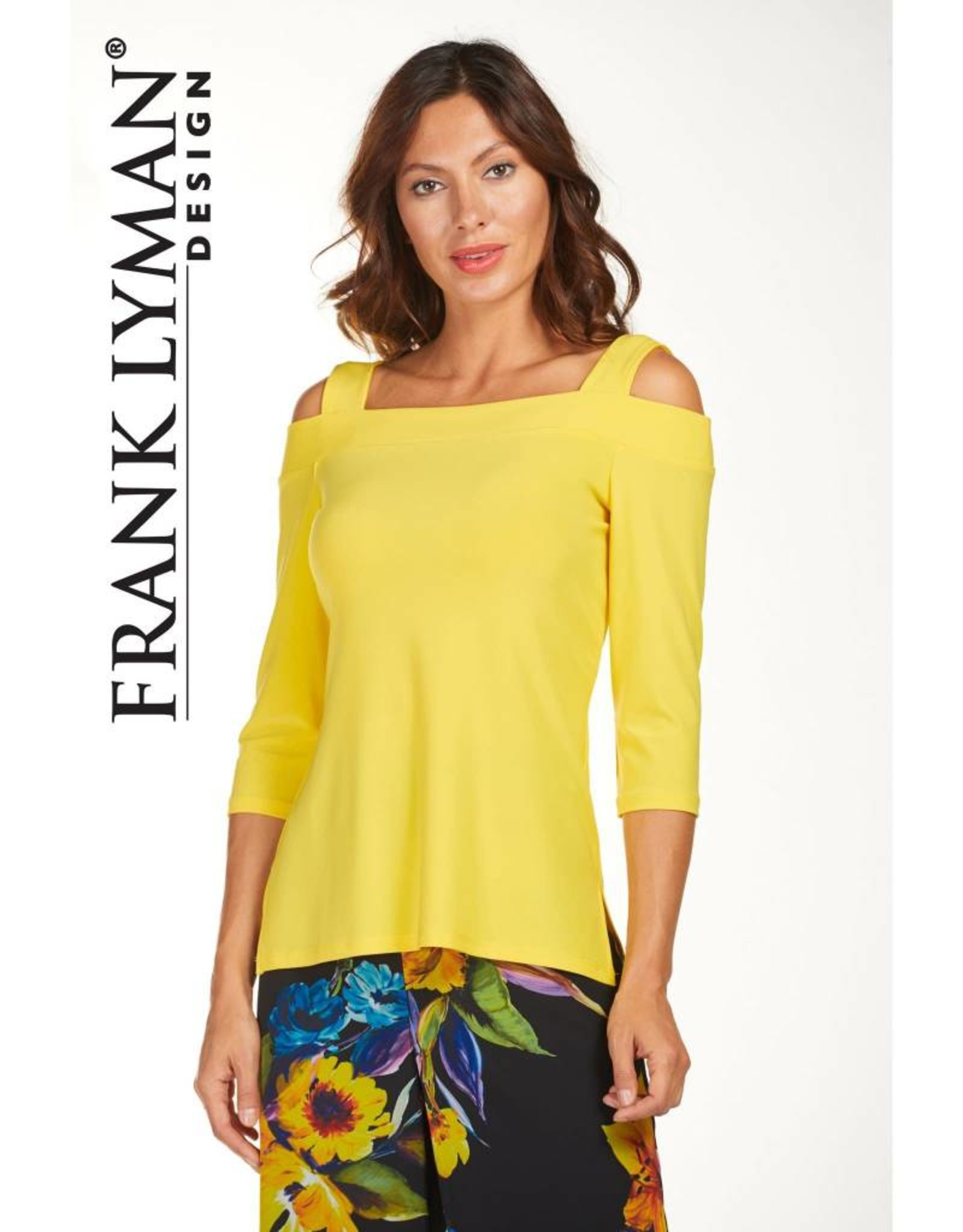 Frank Lyman Shoulder Cut-out Top 181021