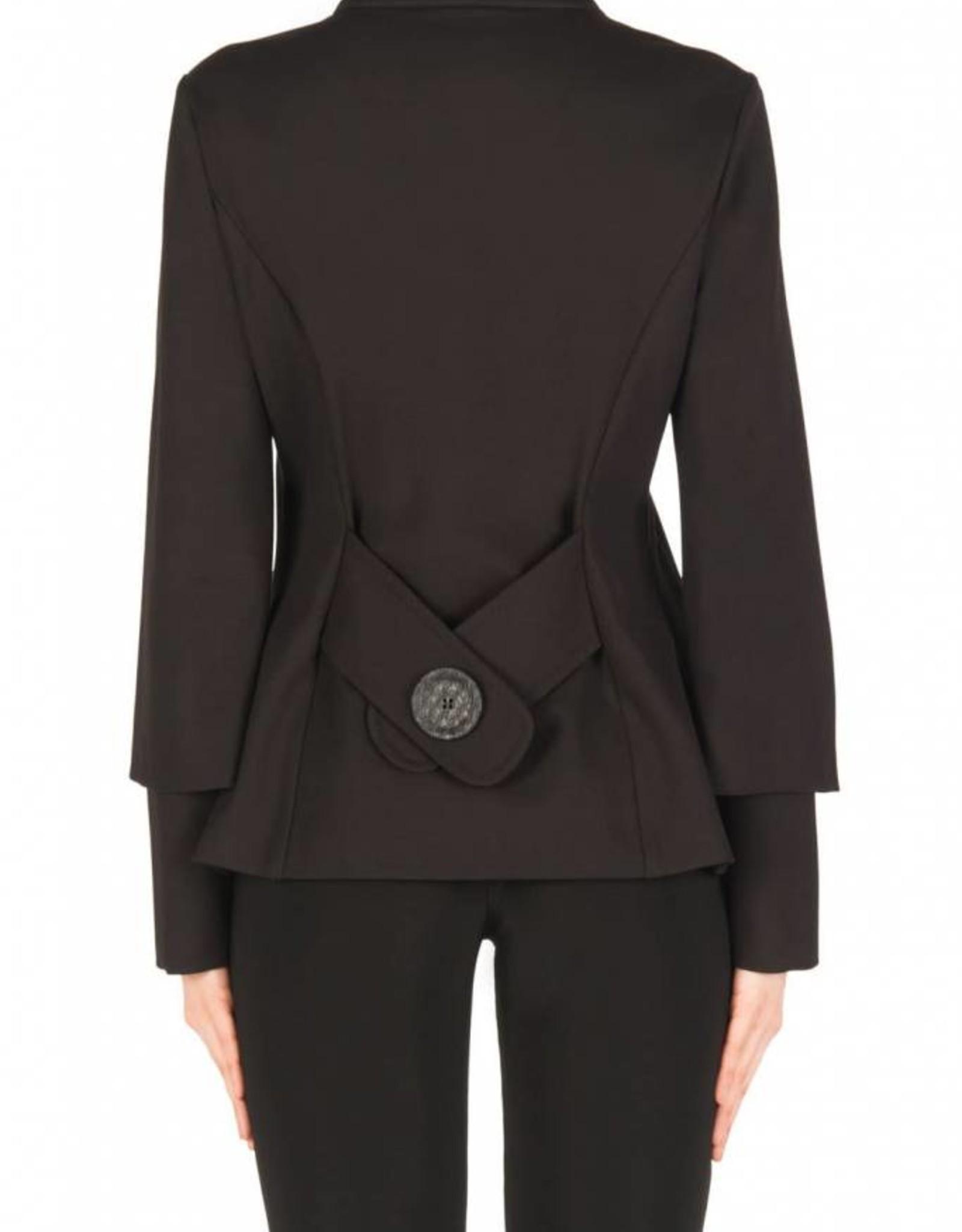 Joseph Ribkoff Joseph Ribkoff Charcoal/Black Jacket 183357