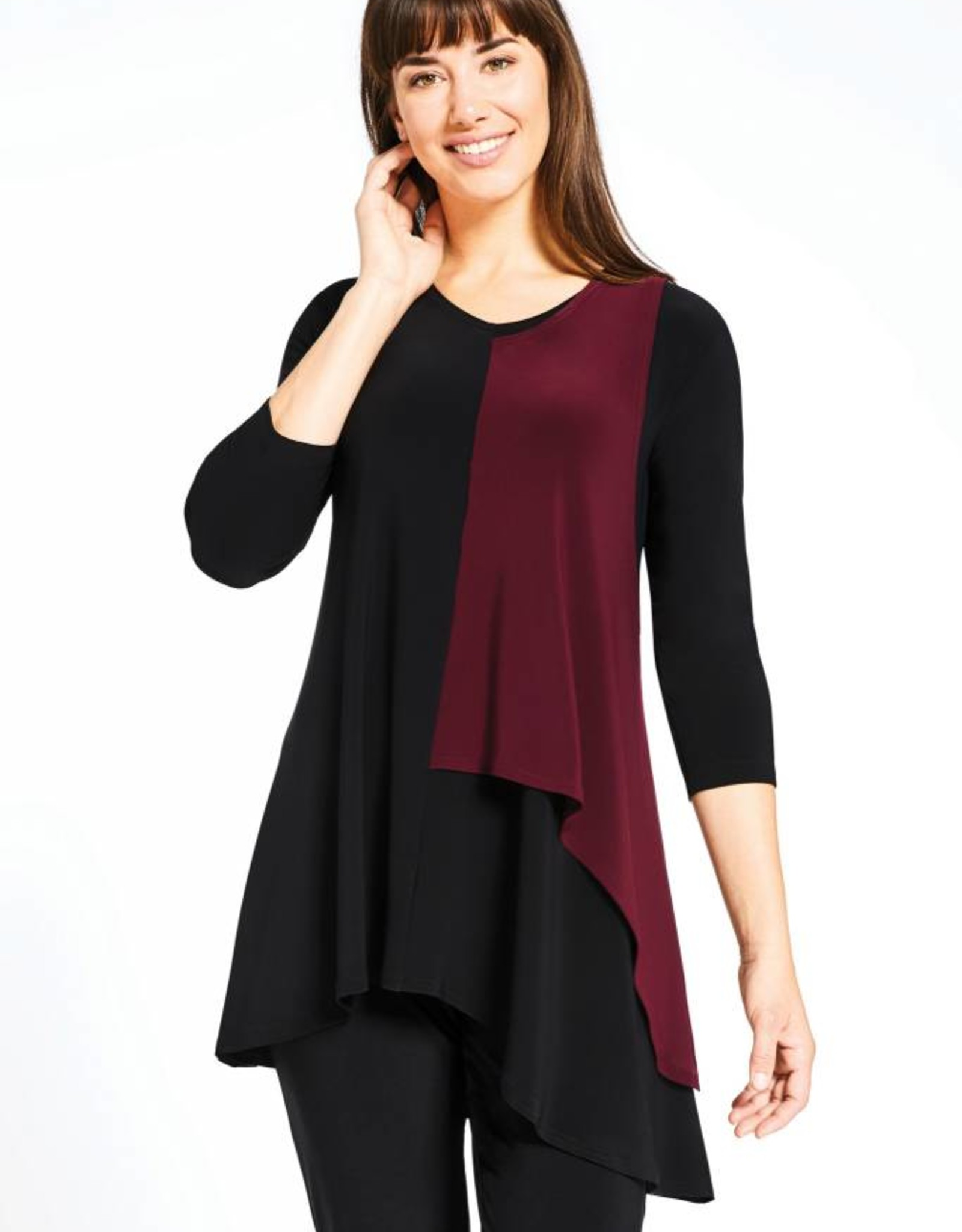 Sympli Matrix Flip Top, 3/4 sleeve 22171CB-2
