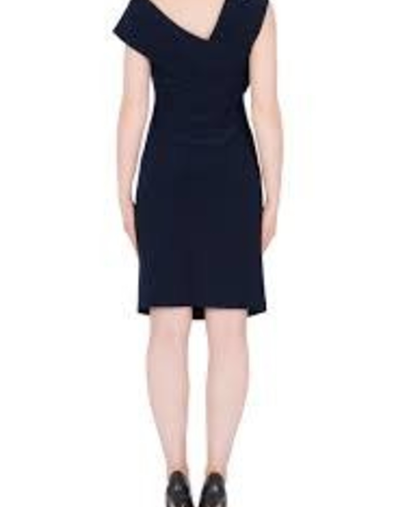 Joseph Ribkoff Off shoulder Navy Dress Joseph Ribkoff 184008