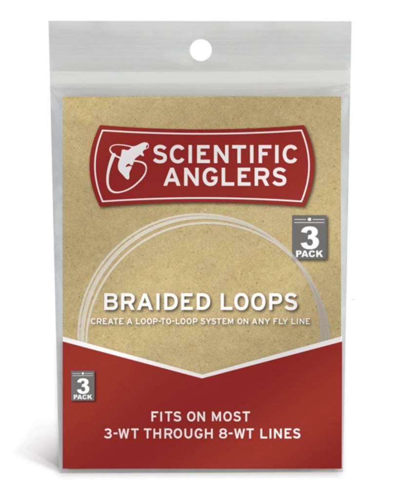 Scientific Anglers Braided Loops 3-8wt 3 Pack