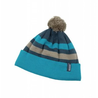 Simms Women's Fleece Lined Pom Hat Lagoon