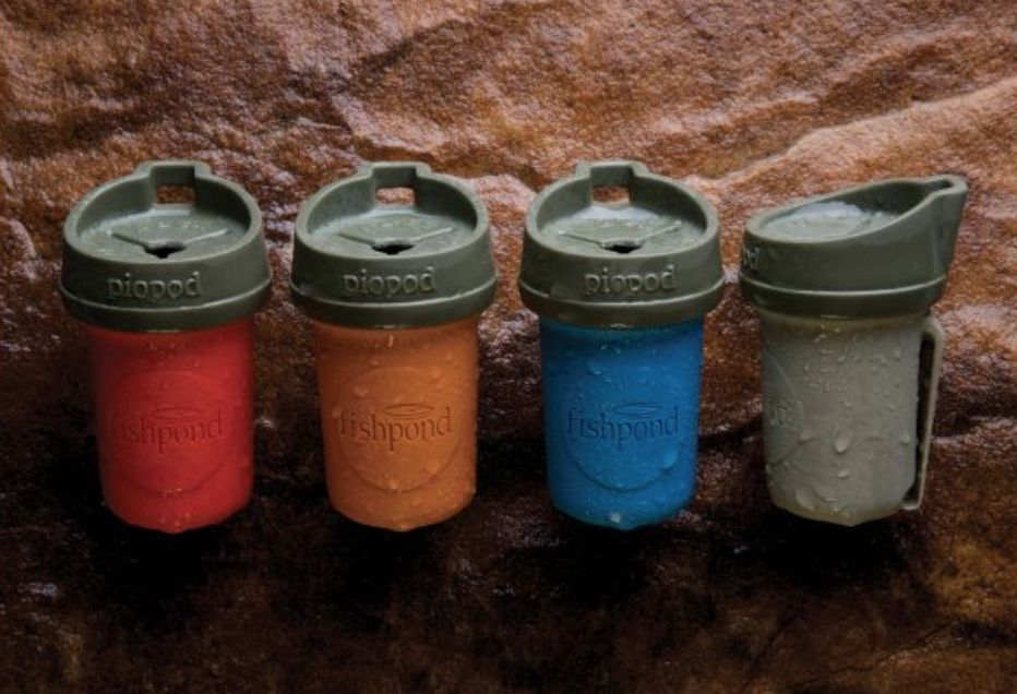 Fishpond Piopod Microtrash Container Various Colors
