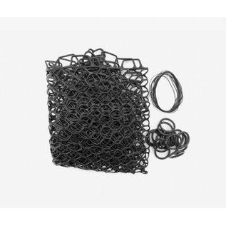 """Fishpond Nomad Replacement Rubber Net - 19"""" Extra Deep Black"""