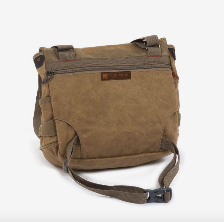 Fishpond Lodgepole Fishing Satchel - Earth