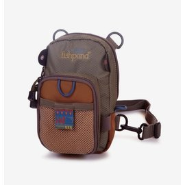 Fishpond San Juan Vertical Chest Pack - Sand/Saddle Brown