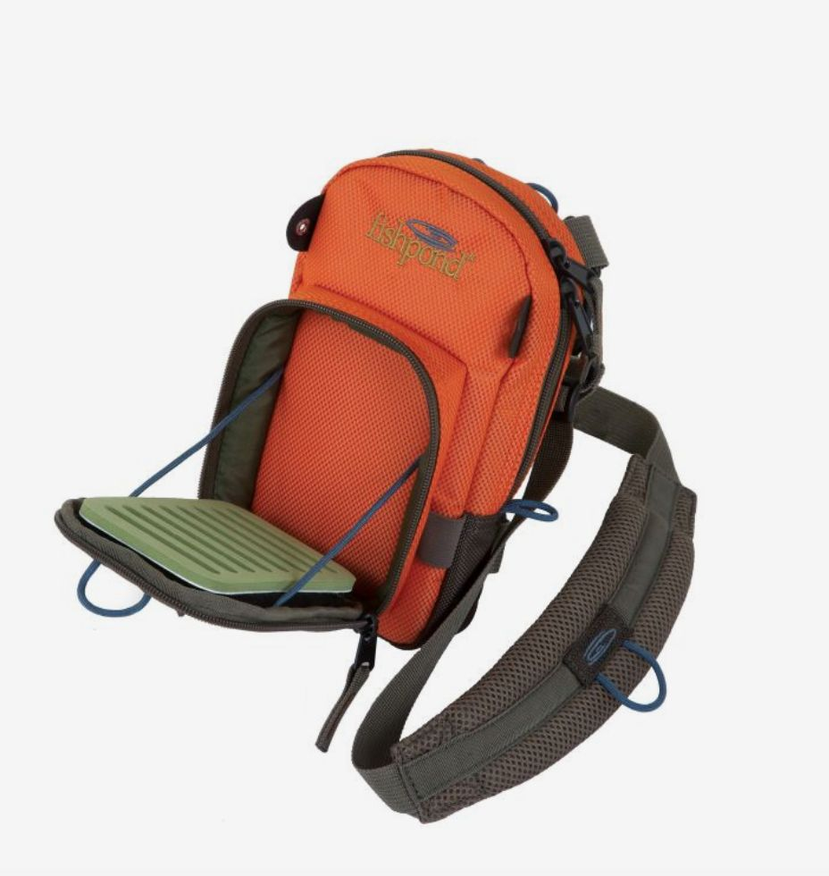 Fishpond San Juan Vertical Chest Pack - Orange