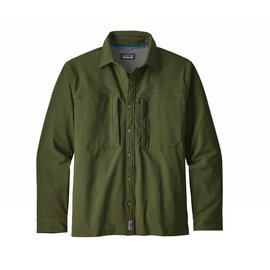 Patagonia Men's Long Sleeve Snap Dry Shirt