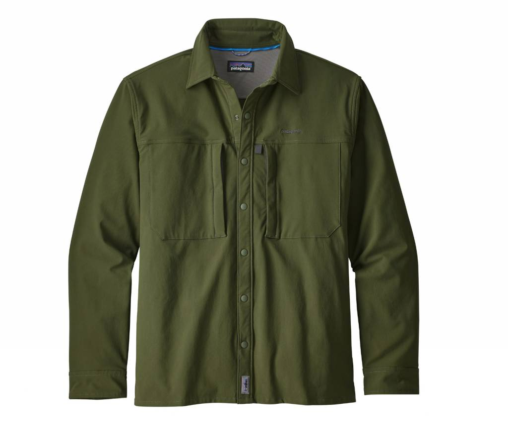 Patagonia Men's Long Sleeve Snap Dry Shirt