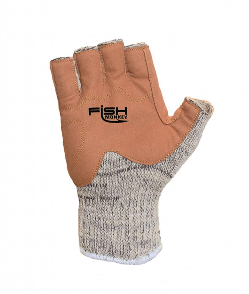 Fish Monkey Fish Monkey Wool Half Finger Gloves