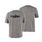 Patagonia Men's Capilene Cool Daily Graphic Shirt Feather Grey