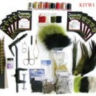 WAPSI FLY TYING STARTER KIT W/ D.V.D.