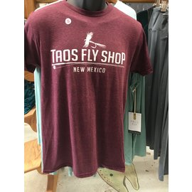 Taos Fly Shop Fly Silhouette Logo TEE