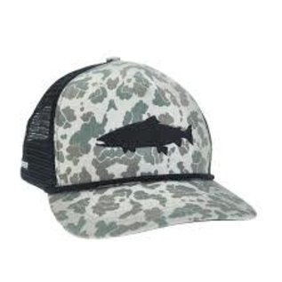Camo Trout Retro Hat 5p