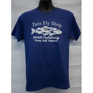 Taos Fly Shop Logo (front) Tee