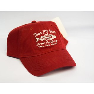 Taos Fly Shop Shadow Fish Logo Hat