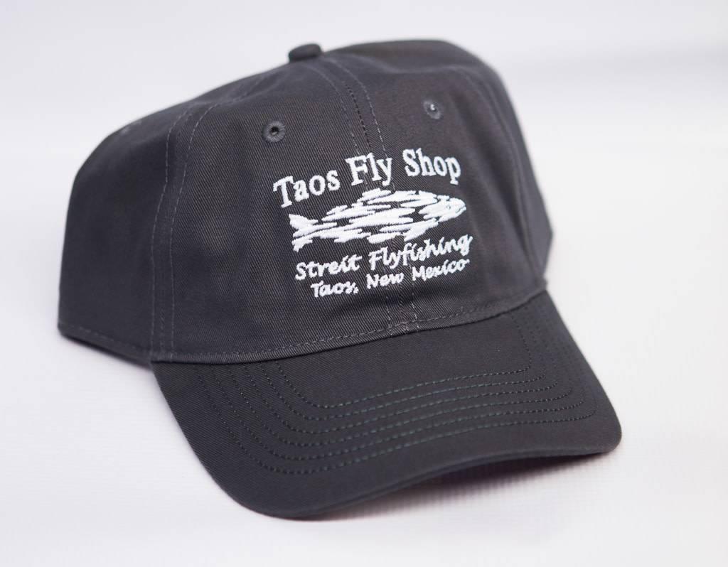 Taos Fly Shop Shadow Fish Logo Hat