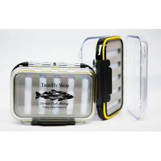 Yellow Waterproof Taos Fly Shop Fly Box