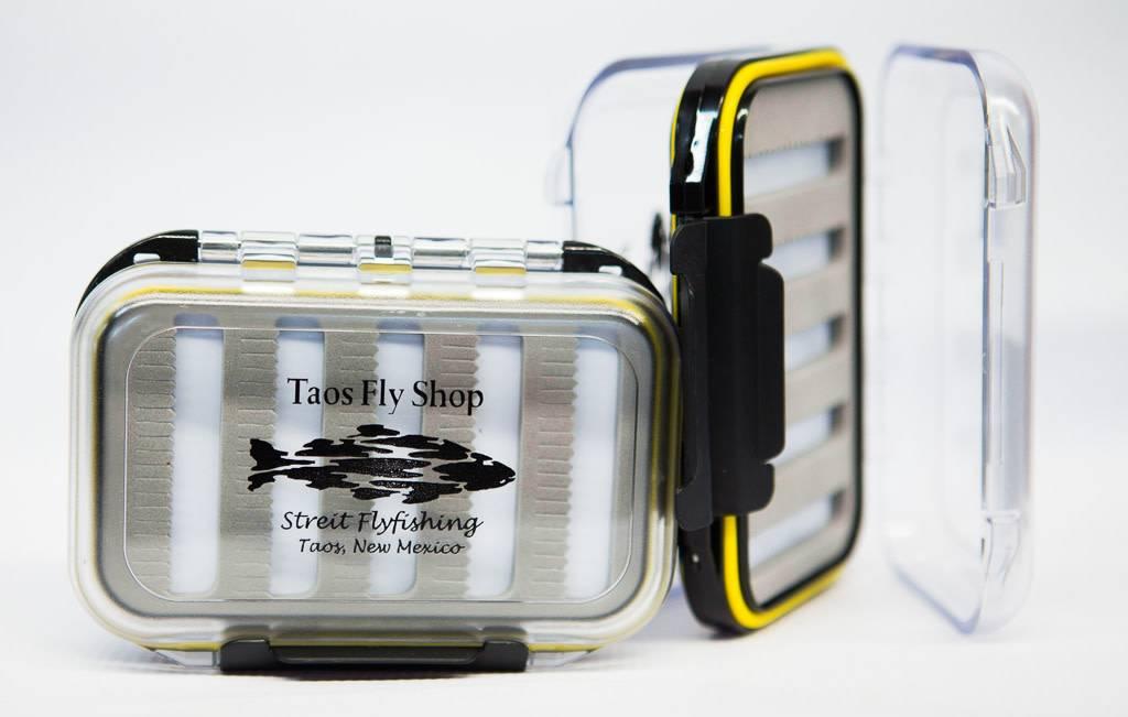 Yellow Waterproof Taos Fly Shop Fly Box