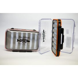Orange Large Waterproof Taos Fly Shop Fly Box