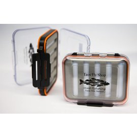 Orange Waterproof Taos Fly Shop Fly Box