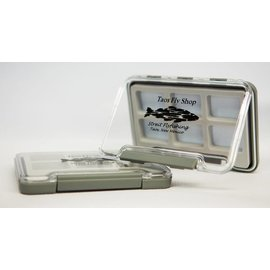 Thin Waterproof Taos Fly Shop Fly Box