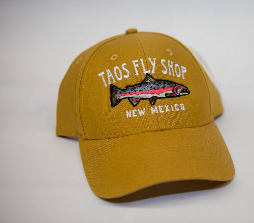 Taos Fly Shop Rainbow Trout Hat