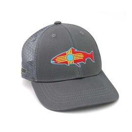 Rep Your Water NM Fish Hat Grey