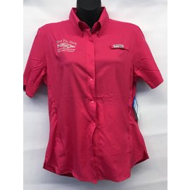 Women's Columbia Tamiami Short Sleeve Logo Shirt