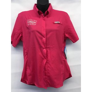 Women's Columbia Tamiami Short Sleeve Logo Shirt
