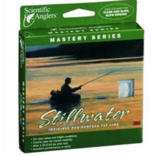Scientific Anglers Stillwater Invisible Fly Line