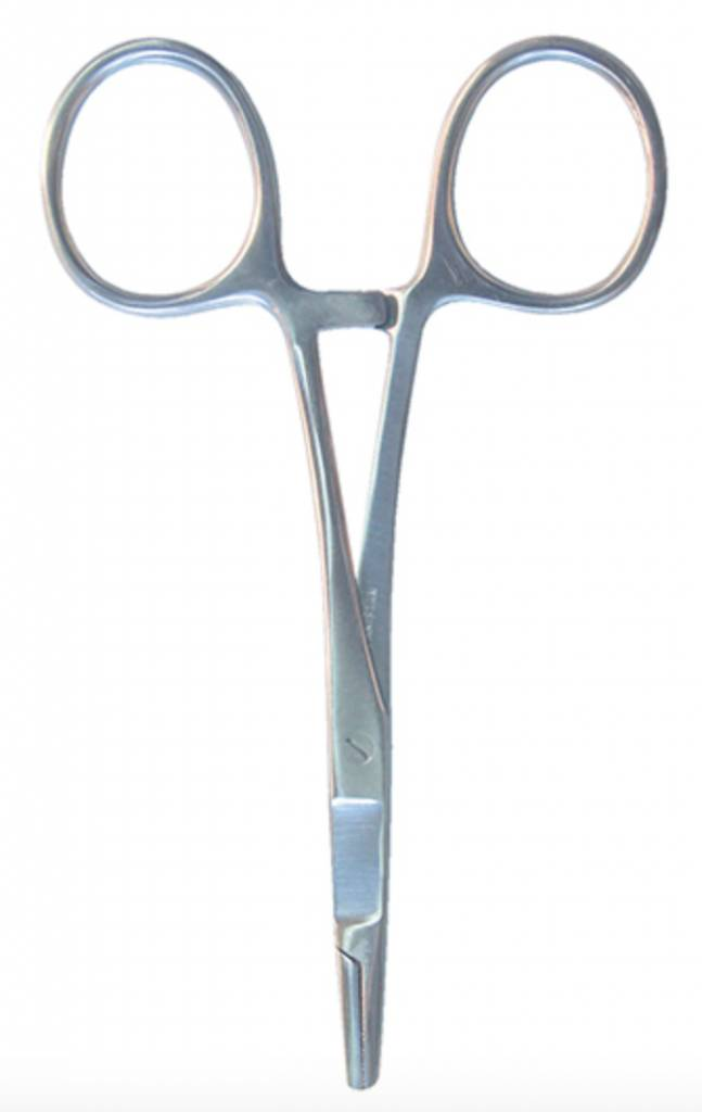 Angler's Accessories Basic Hemostats Silver