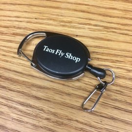 Taos Fly Shop Logo Zinger