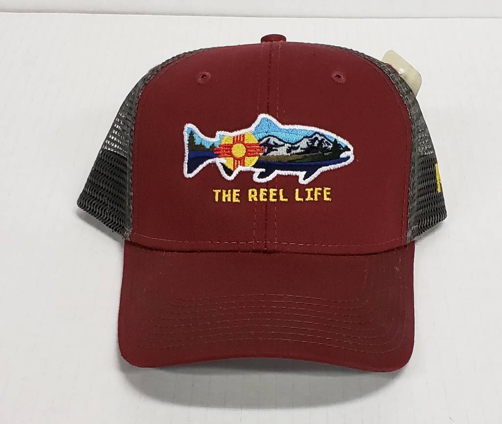 Reel Life Logo Trucker Hat