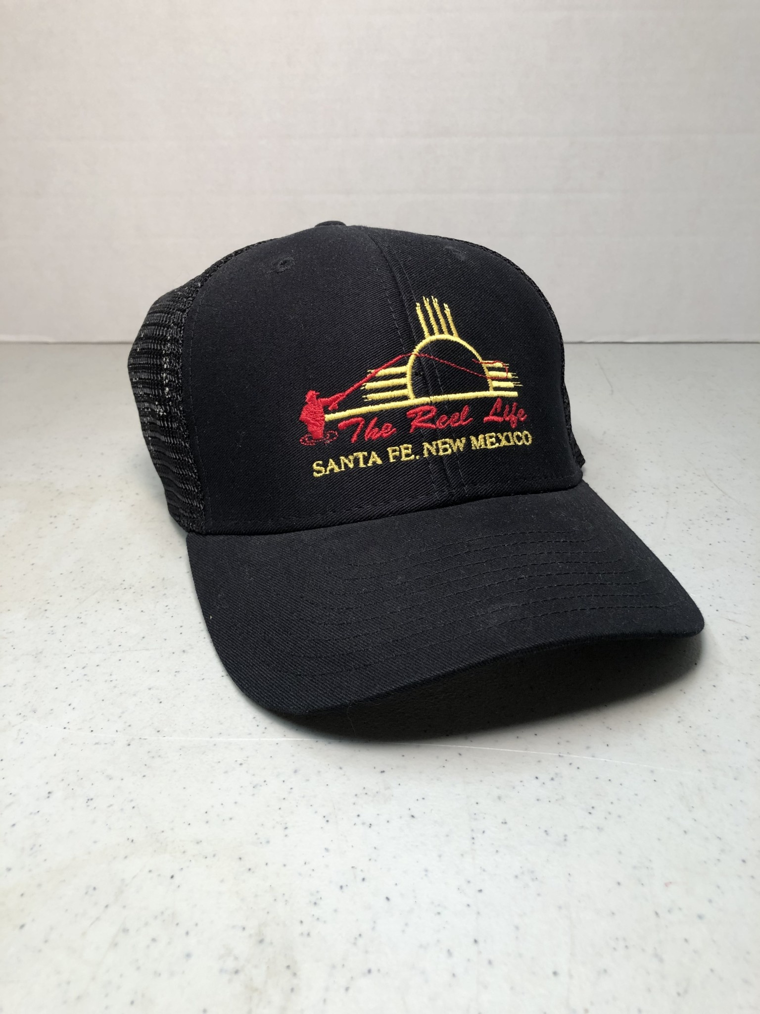 OURAY TRL LOGO ZIA TRUCKER HAT