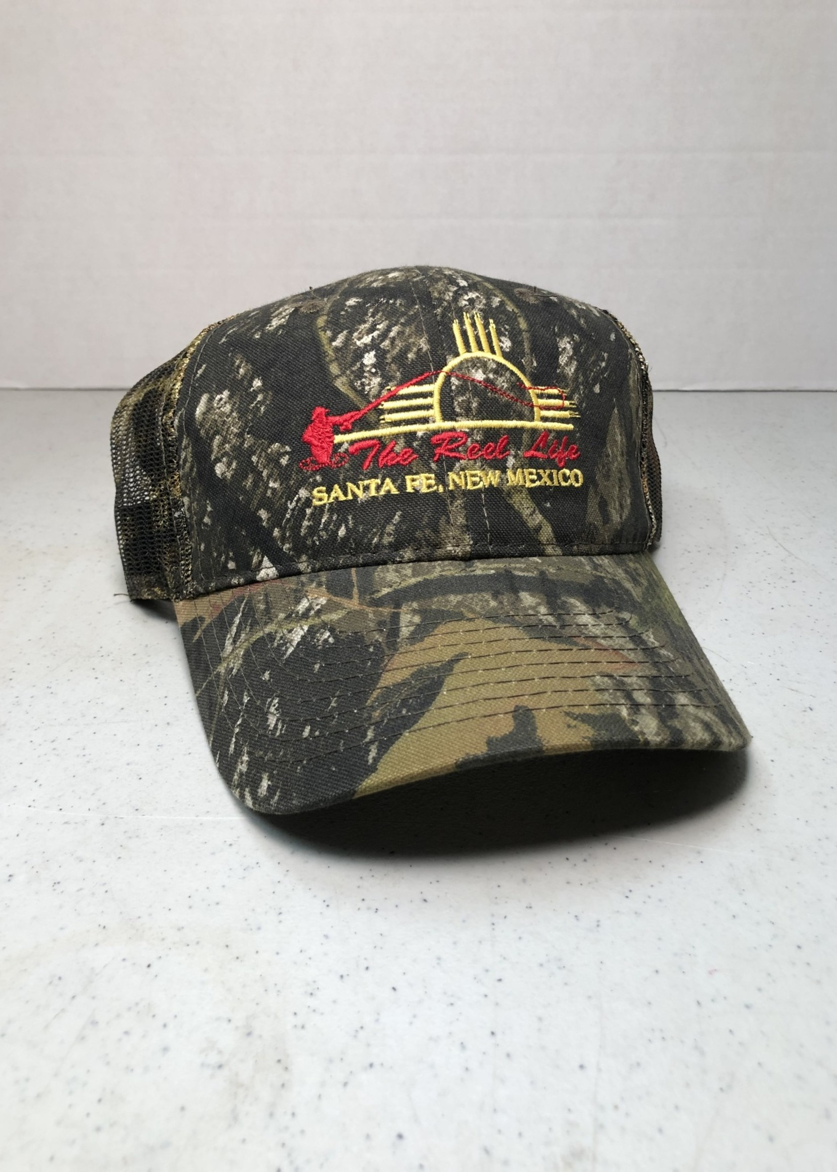 OURAY TRL LOGO ZIA TRUCKER HAT