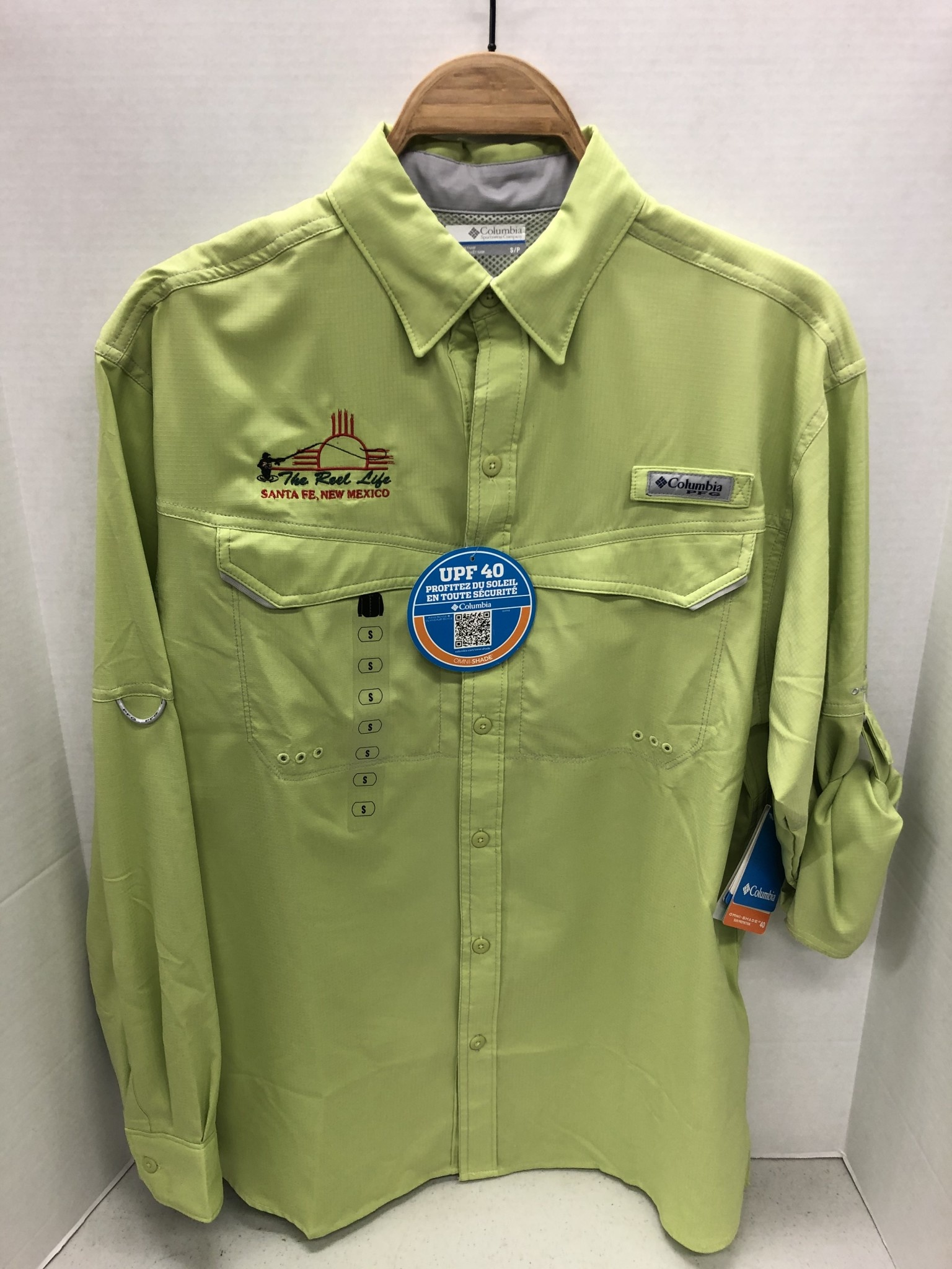 COLUMBIA TRL LOGO Columbia Low Drag Offshore LS Shirt