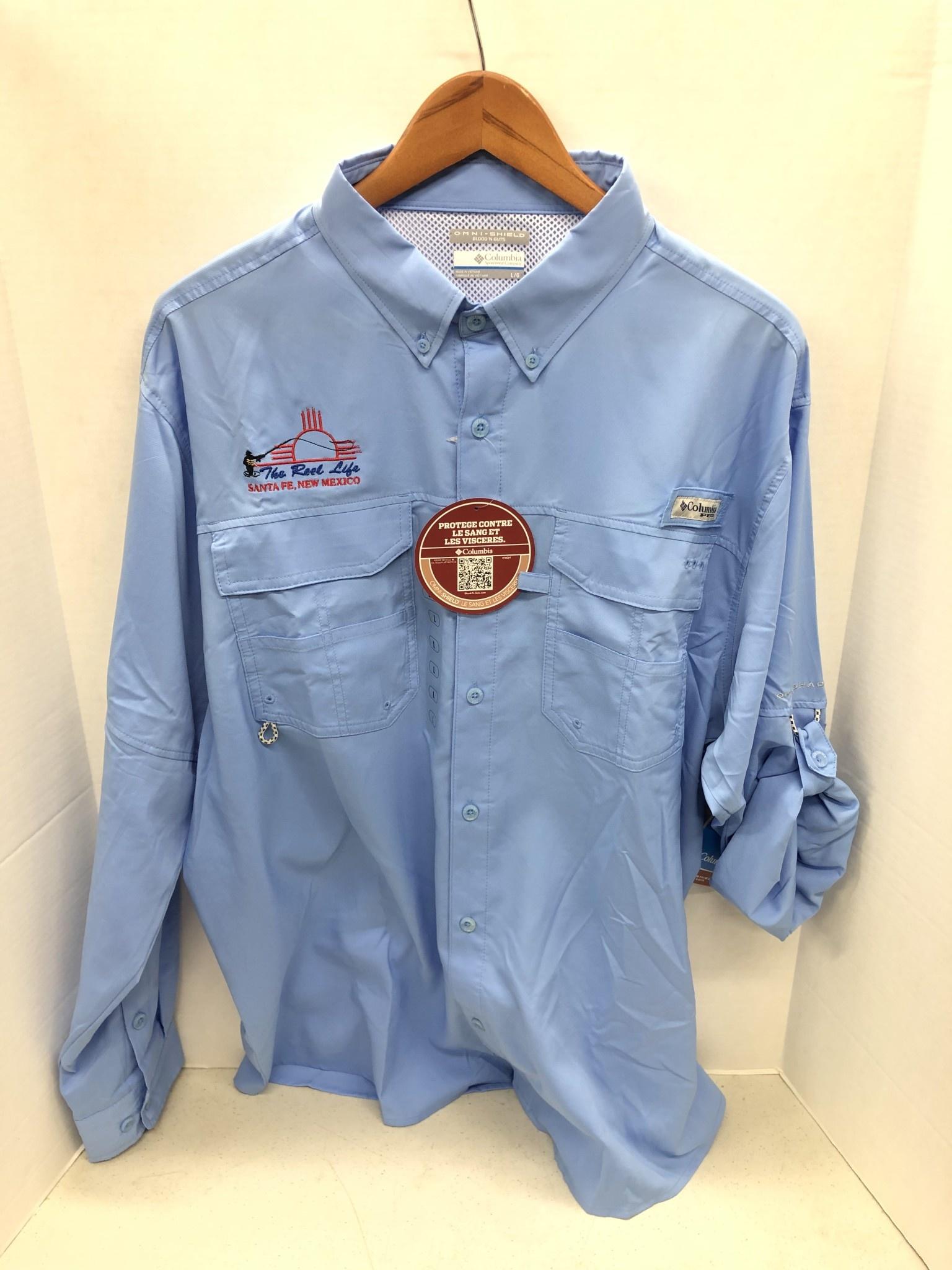 COLUMBIA TRL LOGO Columbia Blood and Guts III LS Woven Shirt