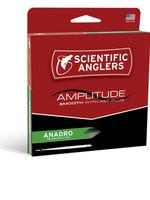 SCIENTIFIC ANGLERS Amplitude Anadro Taper WF5F - Turtle Grass/Willow/Optic Green